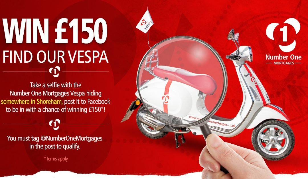 Find our Vespa competition
